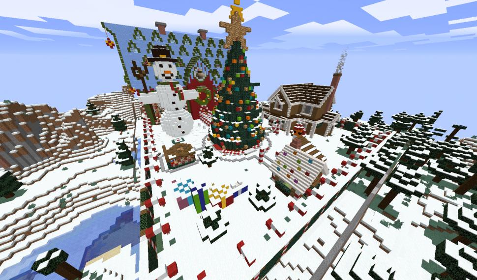 Evento Navidad ERP Minecraft 2020