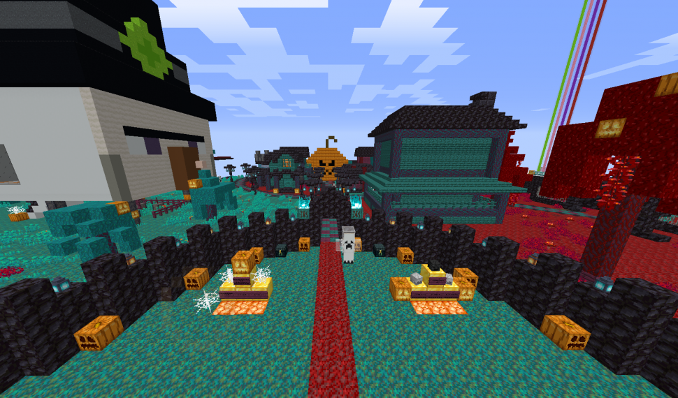 Evento Halloween 2020 ERP Minecraft